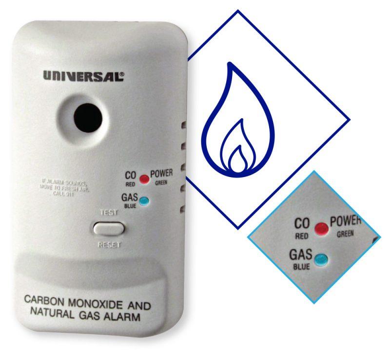 Residential methane detector